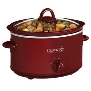 I love my little red crock pots.