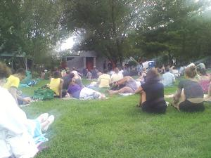 Shakespeare in the Park. Socrates Sculpture Park in Queens. Hip to Hip Theater Company.