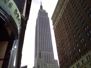 The Empire State Building. 5th Ave. and 34th St.