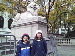 New York Public Library. At Bryant Park.  5th Ave. and 42nd St.