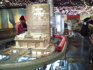 Holiday Train Show at Grand Central.