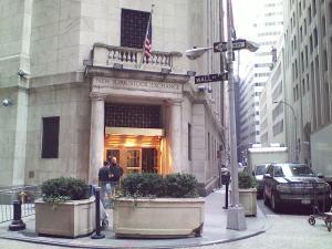 Wall Street. Literally.