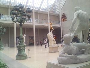 Beautiful atrium at The Met.