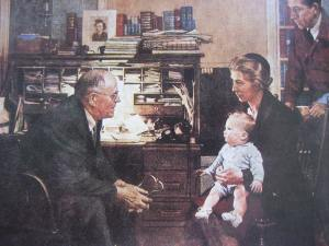 """The Country Doctor"" by Norman Rockwell"