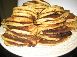 Sourdough pancakes.