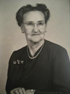 My great-grandmother, Maggie Lane.